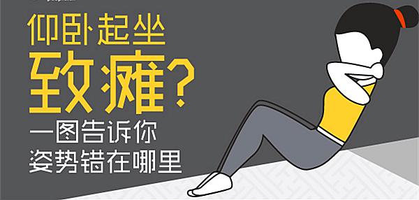 仰卧起坐能减肚子?当心健身不成反伤身!